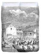 Second Opium War, 1860 Duvet Cover