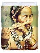 South Asian Art  Duvet Cover