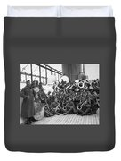 Wwi Homecoming, 1919 Duvet Cover