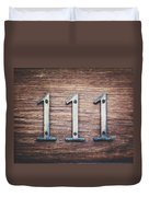 111 Or 3 Duvet Cover