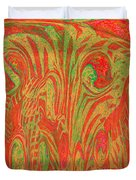 1133 Abstract Thought Duvet Cover