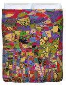 1144 Abstract Thought Duvet Cover