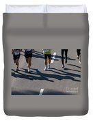 11th Poznan Marathon Duvet Cover