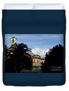 Alpine Village Duvet Cover