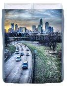 Charlotte Downtown Duvet Cover