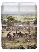 Civil War Gettysburg Duvet Cover