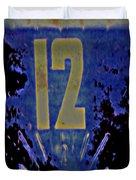 12 In  Blue Duvet Cover