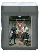 12. Jesus Is Beaten / From The Passion Of Christ - A Gay Vision Duvet Cover