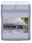 London Thames Bridges  Duvet Cover