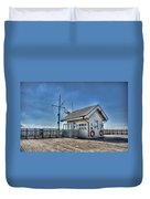 Penarth Pier Duvet Cover