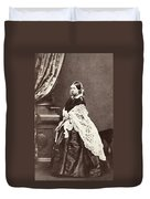 Queen Victoria (1819-1901) Duvet Cover