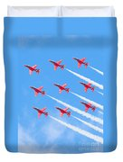 Red Arrows Duvet Cover