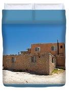 Sky City Acoma Pueblo Duvet Cover
