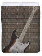 12 Thousand Electric Guitars Duvet Cover