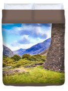 Welsh Mountains Duvet Cover