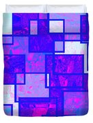1216 Absract Thought Duvet Cover