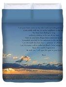 129- Rumi Duvet Cover