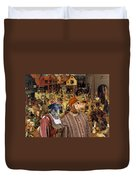 Dachshund Art Canvas Print Duvet Cover