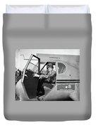 Amelia Earhart (1897-1937) Duvet Cover