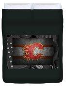 Calgary Flames Duvet Cover