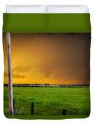 Excellent Severe T-boomers South Central Nebraska Duvet Cover