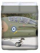 Hellenic Air Force Ta-7 Corsair II Duvet Cover