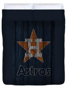 Houston Astros Duvet Cover