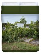 Key West Cemetery Duvet Cover