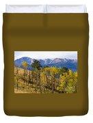 Rocky Mountain Autumn Duvet Cover