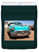 Route 66 Classic Car Duvet Cover