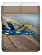 Blue Angel Duvet Cover