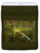 131005b-052 Forest Marsh 2 Duvet Cover