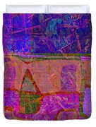1381 Abstract Thought Duvet Cover