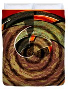 1396 Abstract Thought Duvet Cover