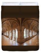 13th Century Gothic Cloister Duvet Cover