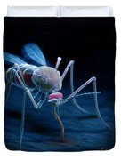 Anopheles Mosquito Duvet Cover