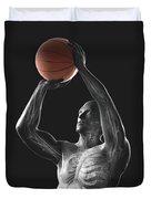 Basketball Shot Duvet Cover