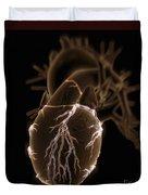 Coronary Blood Supply Duvet Cover
