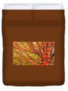 Fall Explosion Of Color Duvet Cover