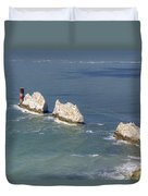 Isle Of Wight Duvet Cover