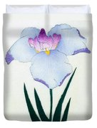 Japanese Flower Duvet Cover