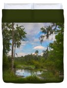 Lowcountry Marsh Duvet Cover