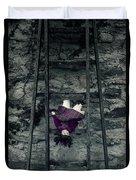 Old Doll Duvet Cover by Joana Kruse