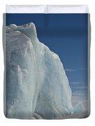 Pack Ice, Antarctica Duvet Cover