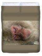 Snow Monkey, Japan Duvet Cover
