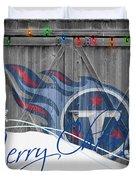 Tennessee Titans Duvet Cover by Joe Hamilton