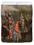 1400s Henry V Of England Speaking Duvet Cover
