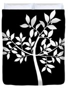 Art Tree Silhouette Duvet Cover