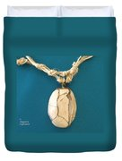 Aphrodite Urania Necklace Duvet Cover