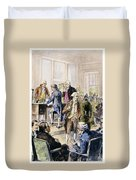 Declaration Of Independence Duvet Cover